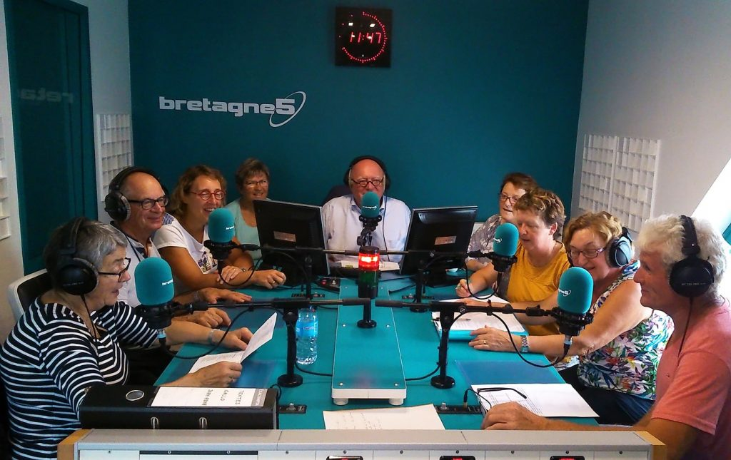 En direct de la radio Bretagne5